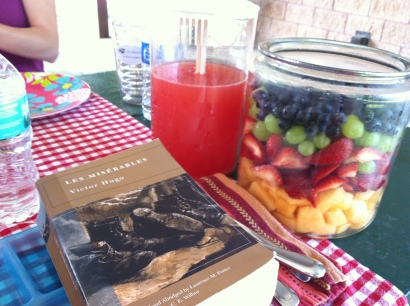 Leas Miserables Book Club Picnic